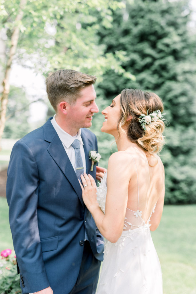 Anthony Wayne House Wedding in Paoli Pennsylvania | Photo by Bucks County and Philadelphia Wedding Photographer Amber Dawn Photography