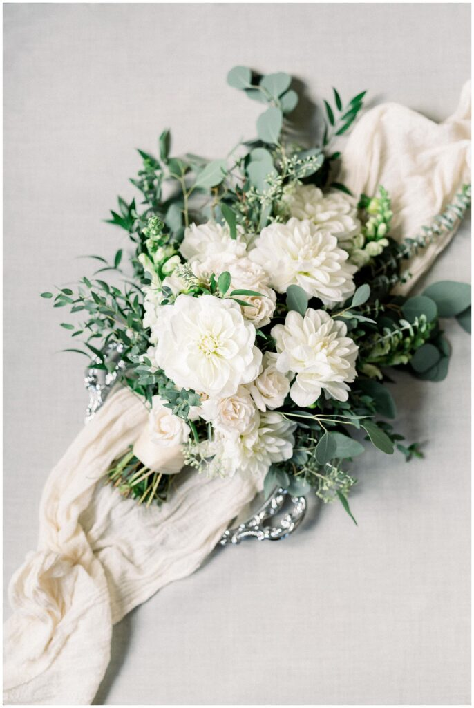 Bridal bouquet by Willow and Thistle
