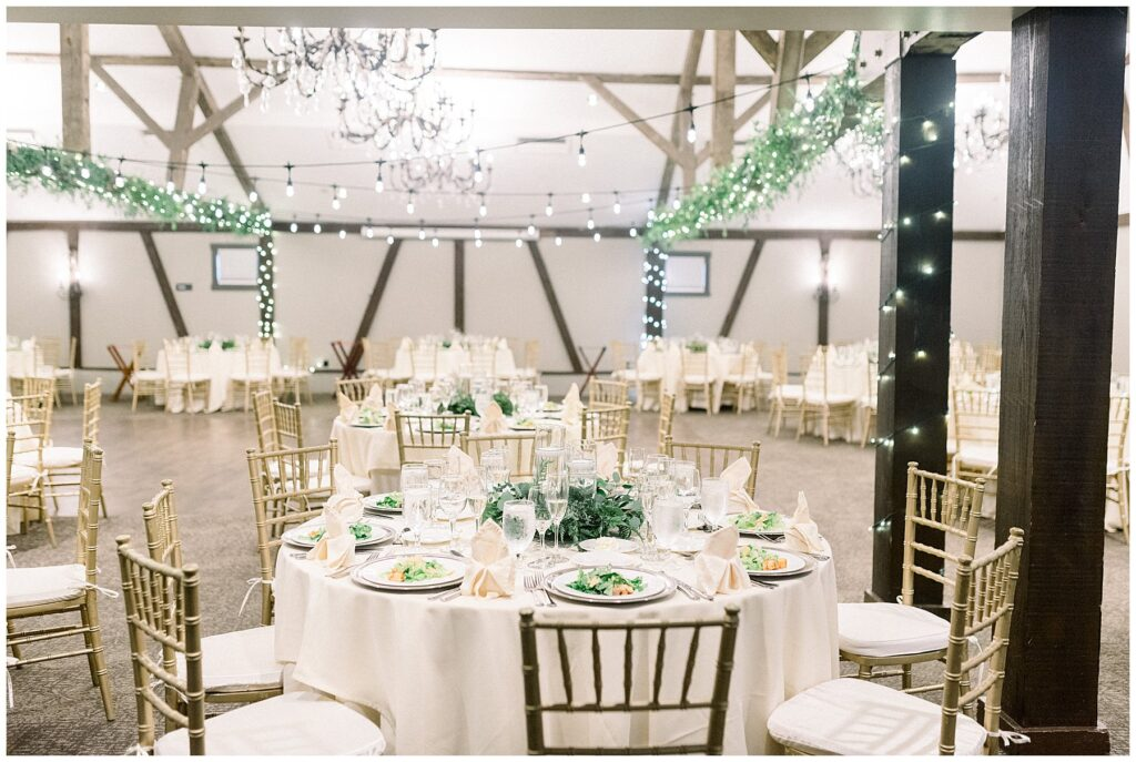 Reception space at Normandy Farm