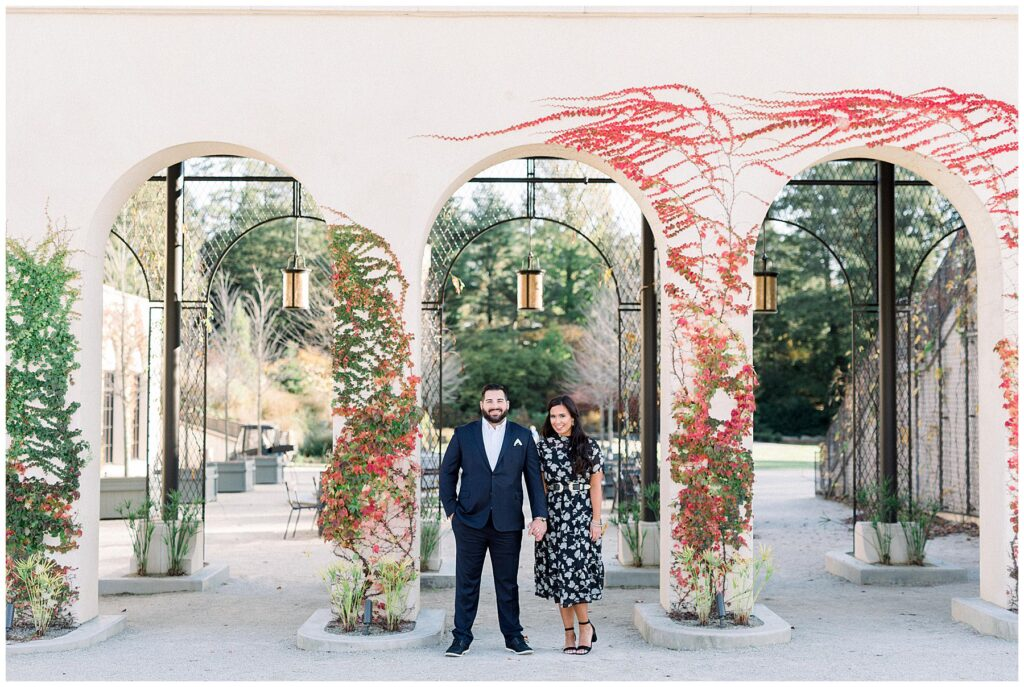 Longwood Gardens Philadelphia Engagement Photo Shoot